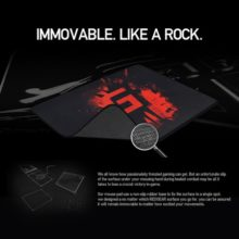 Redgear MP80 Large Speed-Type Gaming Mouse Mat (3)